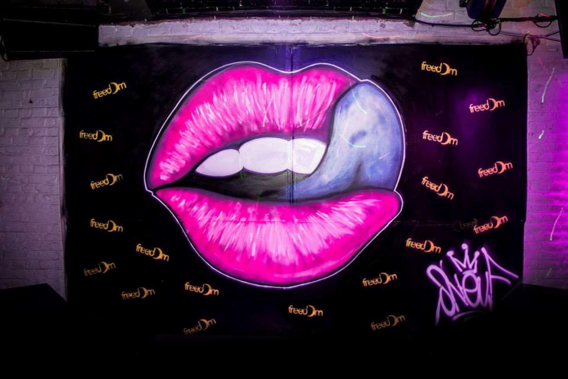 décoration graffiti boite de nuit Lille s9photographizm