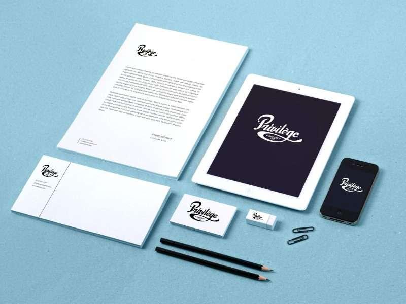 logo bar le privilège à lille s9photographizm graphiste lille