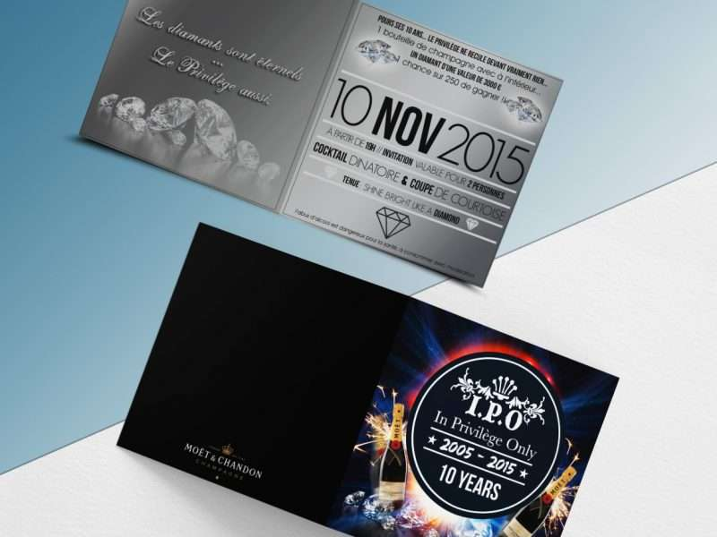 invitation flyer soire bar lille graphisme graphiste