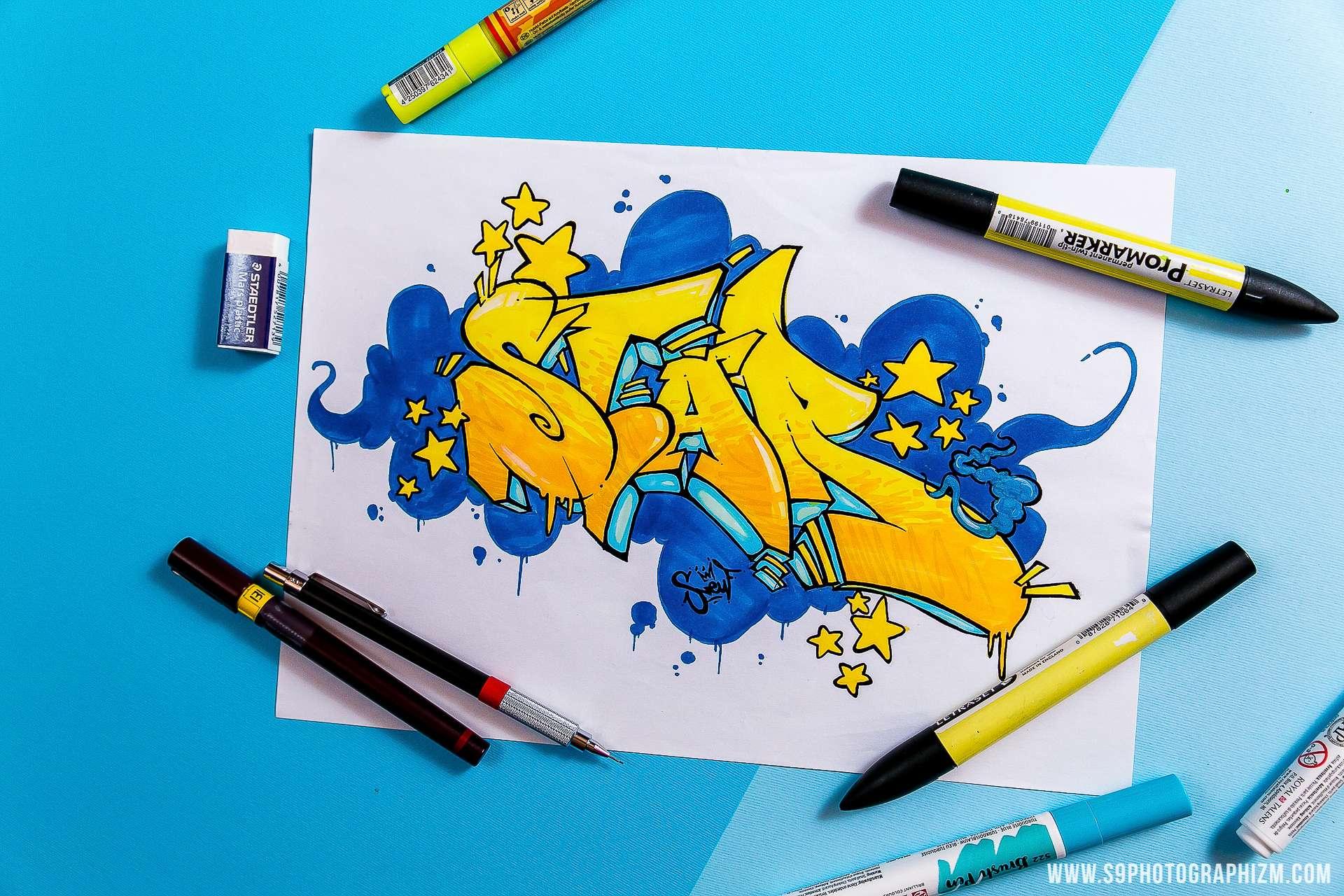 graff graffiti Lille s9photographizm décoration d'intérieure