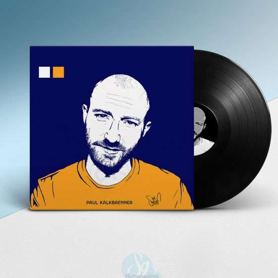 digital painting vinyle paul kalkbrenner graphiste lille illustration