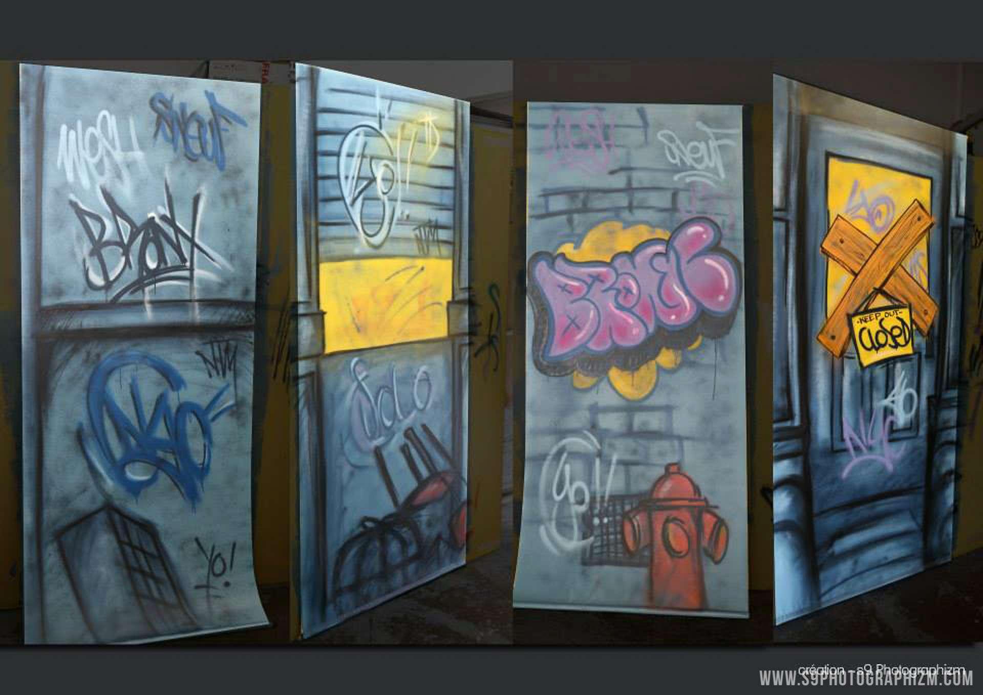 décor de théatre lille s9photographizm graffiti